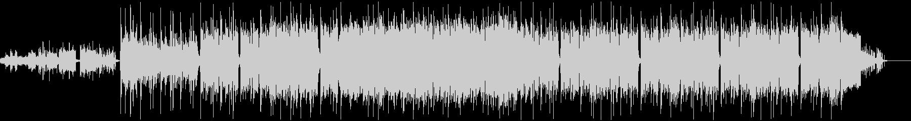 ワルいロックなBGMの未再生の波形
