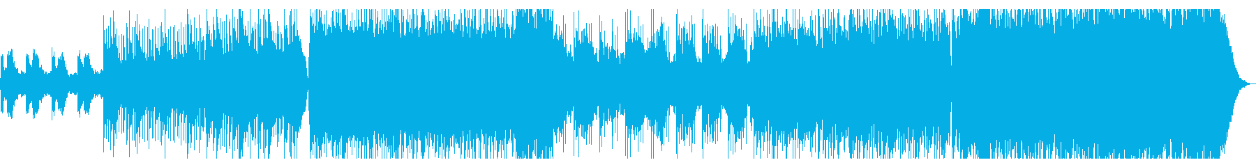90年代ギターポップ風の疾走感あるロックの再生済みの波形