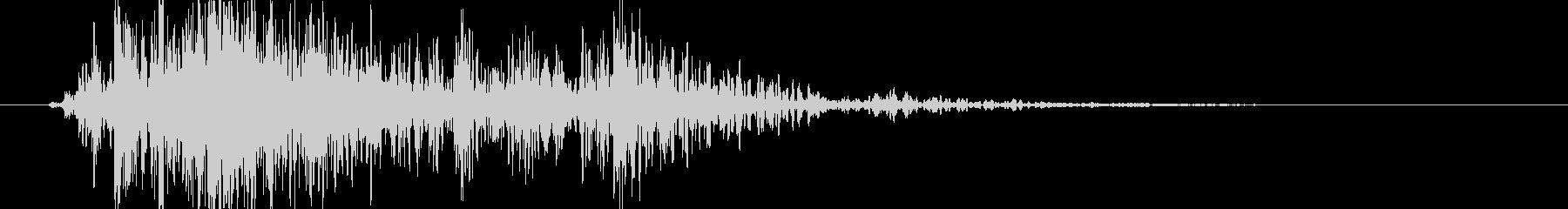 木 ウッドグラインドラージ03の未再生の波形