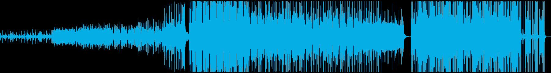 海外自動車のCMをイメージしたEDMの再生済みの波形