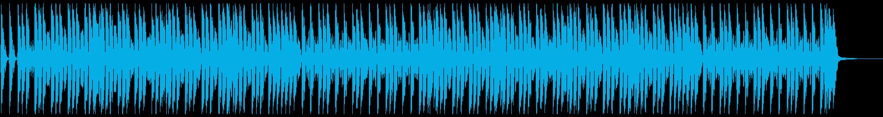 鼓笛隊による可愛いらしいマーチの再生済みの波形
