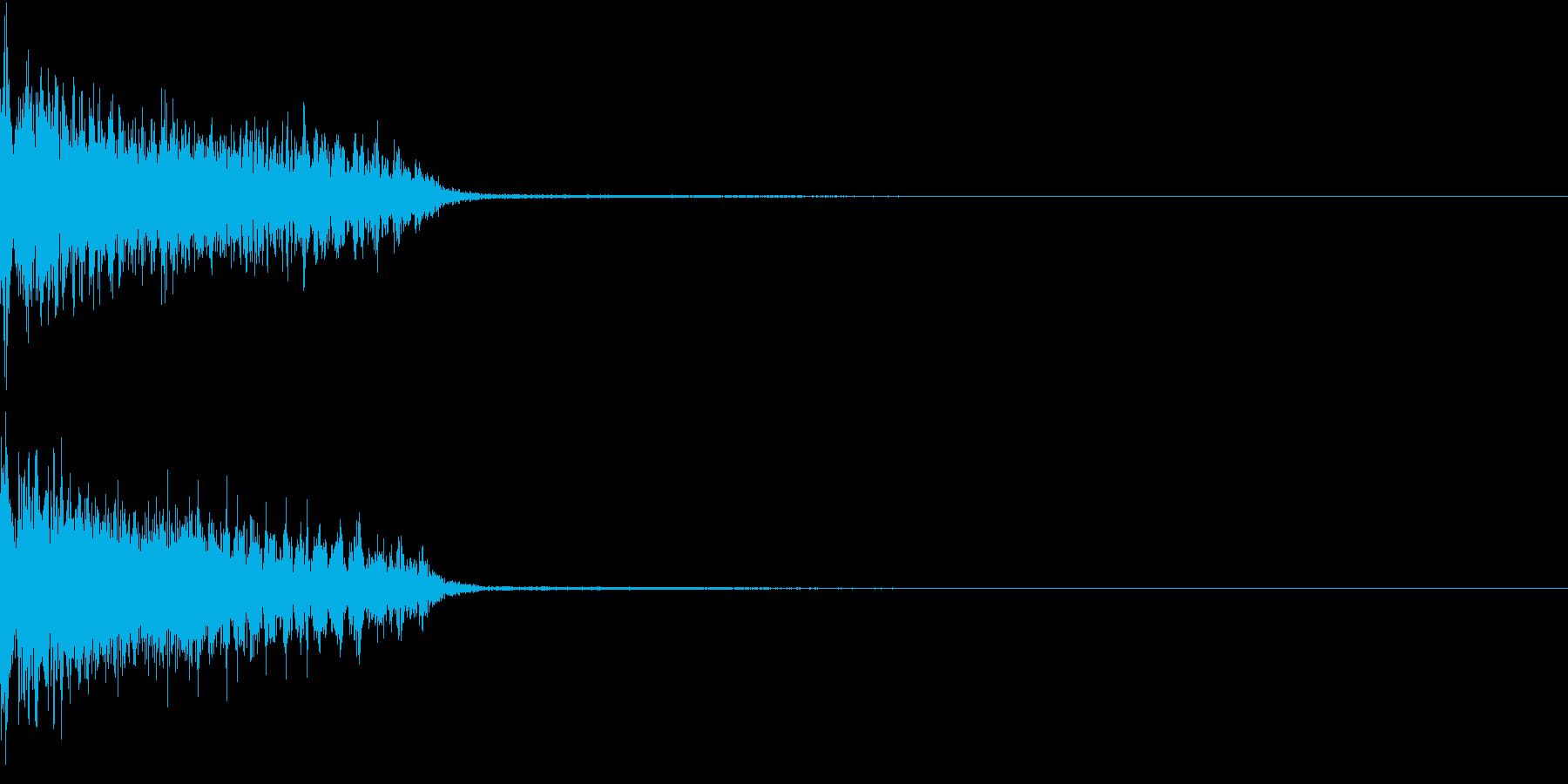 InvaderBuzz 発砲音 16の再生済みの波形