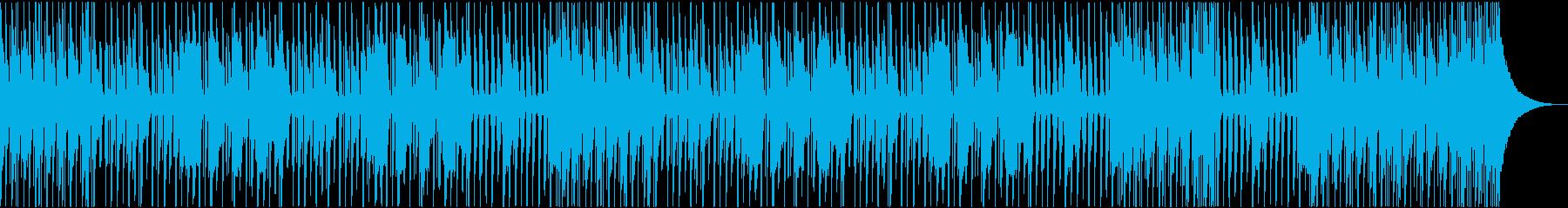 口笛吹きながらウキウキお散歩気分の再生済みの波形
