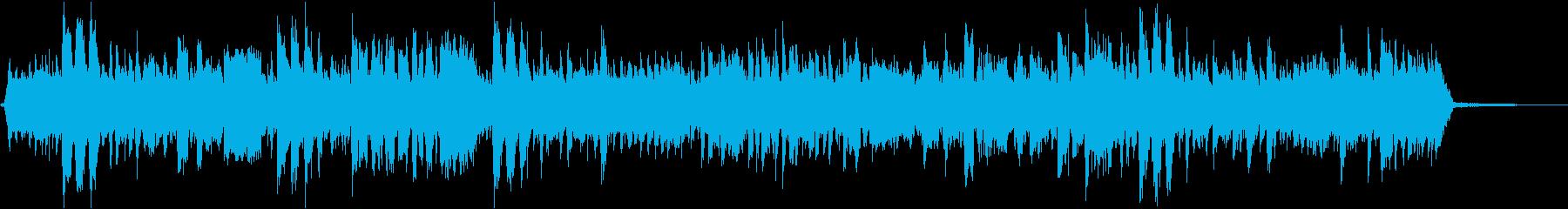 フライドチキンをテーマにした楽曲の再生済みの波形