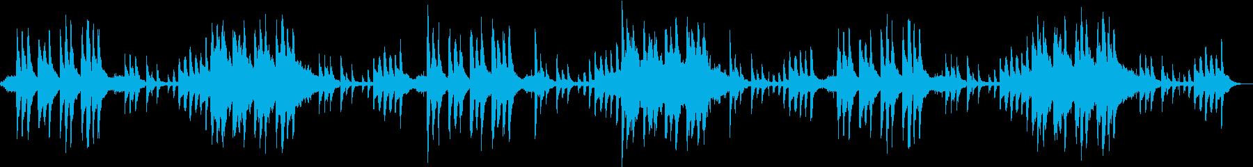 ピアノとストリングスによる美しき旋律の再生済みの波形