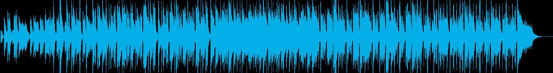 クール・おしゃれ・軽快・エレピ・映像用の再生済みの波形