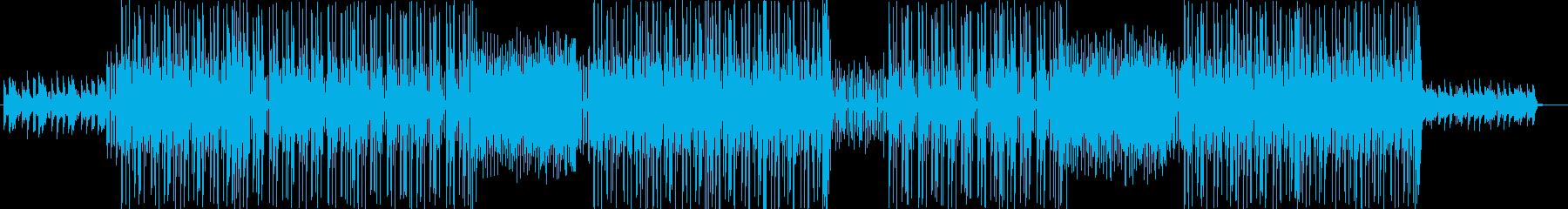洋楽、POP ,Hiphopトラック♪の再生済みの波形
