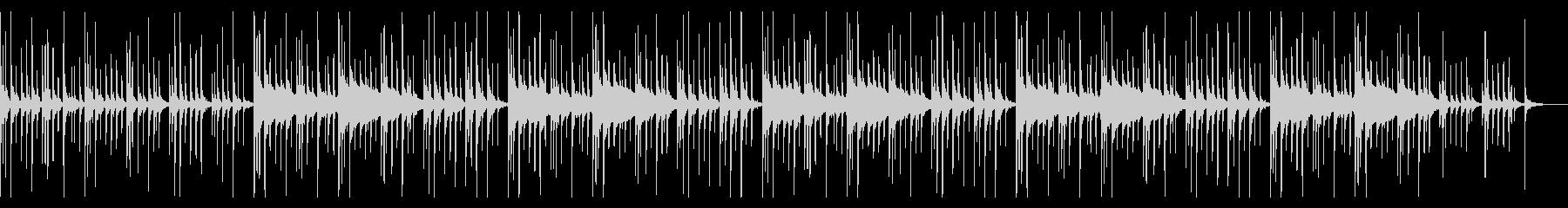 グロッケン(鉄琴)抜きの未再生の波形