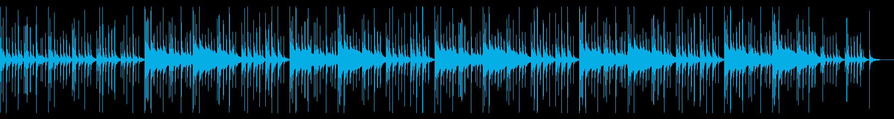 グロッケン(鉄琴)抜きの再生済みの波形