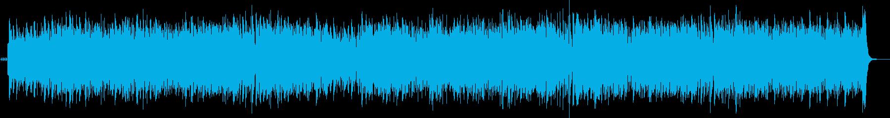 ジャズスタンダードアップテンポ フルートの再生済みの波形