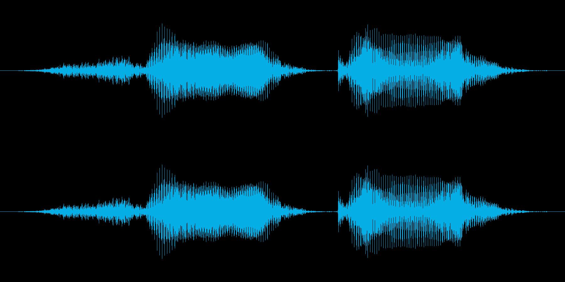 「正解」子供クイズアプリ男性ボイスの再生済みの波形
