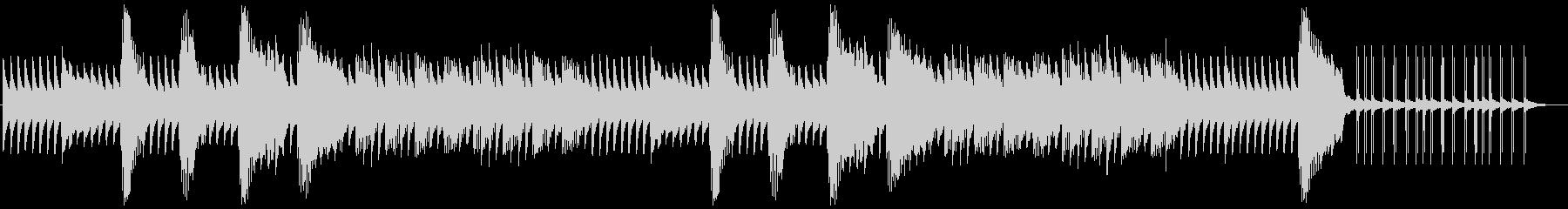 架空のサスペンス映画音楽の未再生の波形