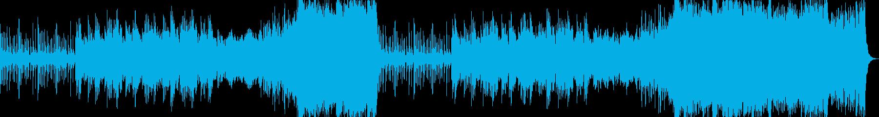 切ない・壮大・感動的・悠久・オーケストラの再生済みの波形