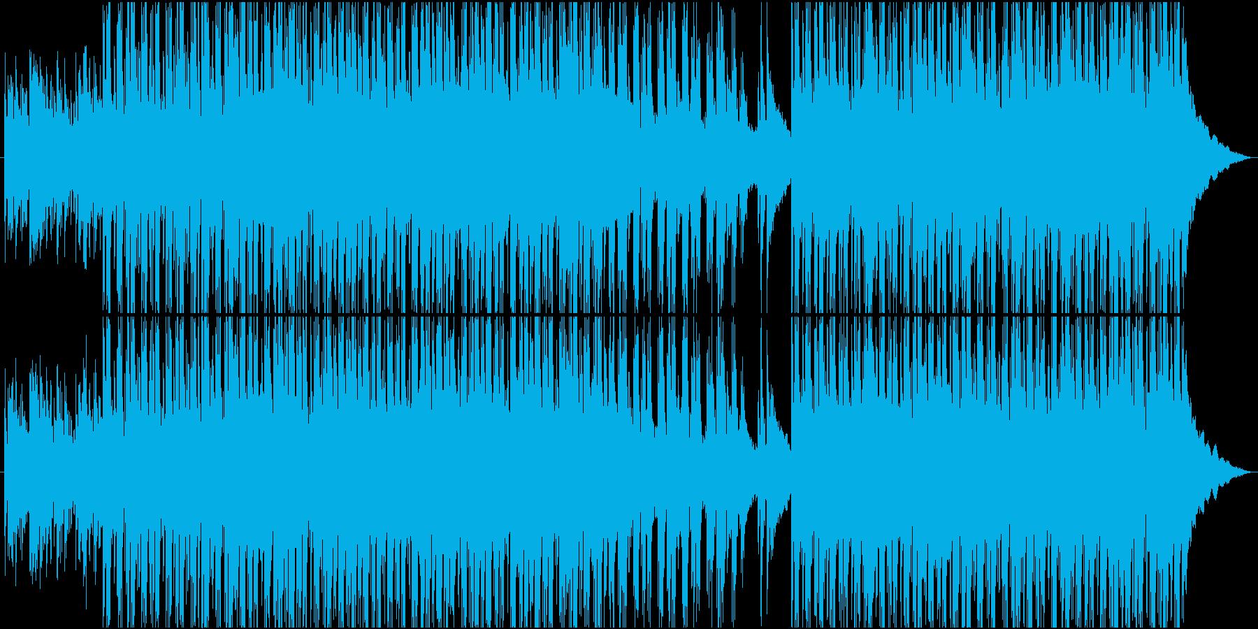 美しく優しいアコースティックサウンドの再生済みの波形