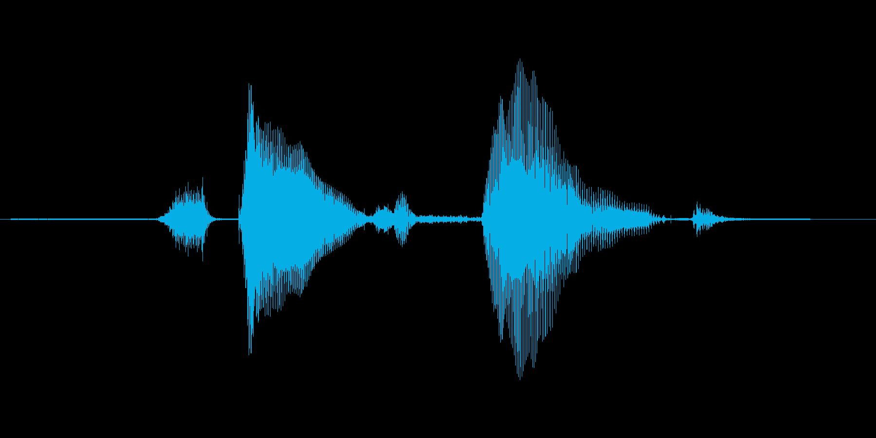 ステージ5(ふぁいぶ)の再生済みの波形