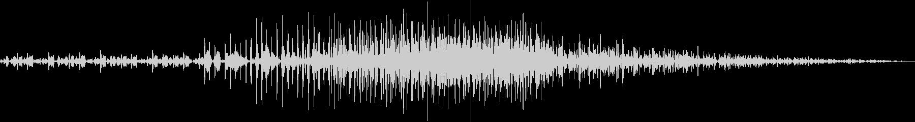 AMGアナログFX 15の未再生の波形