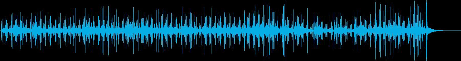 バイオリンとチェロのピチカートでバッハの再生済みの波形