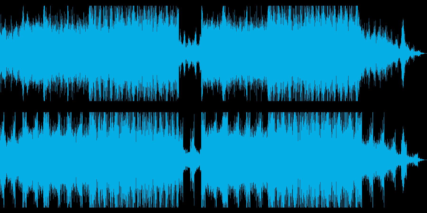 エピックでメカニカルなアンビエントIDMの再生済みの波形