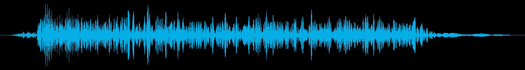 カエル モンスター ゲーム 攻撃 中の再生済みの波形