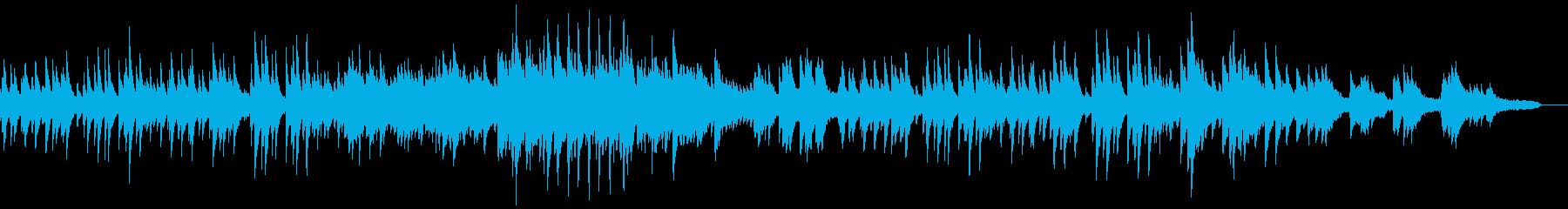 ピアノと弦楽による幻想的でクラシカルな曲の再生済みの波形