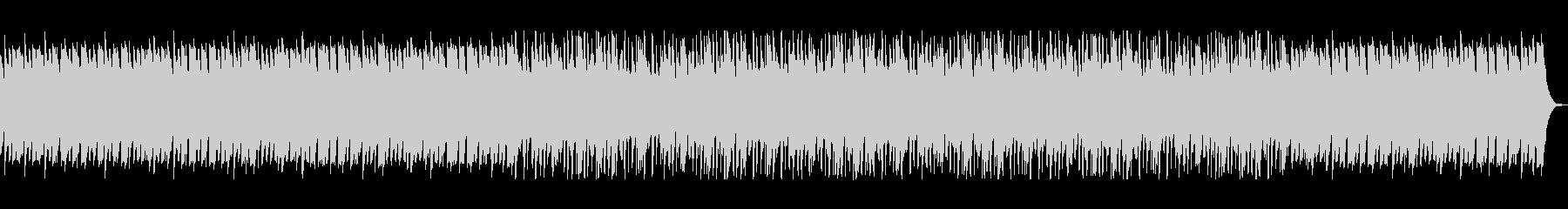 ふんわりした滑らかなヒーリングの曲の未再生の波形