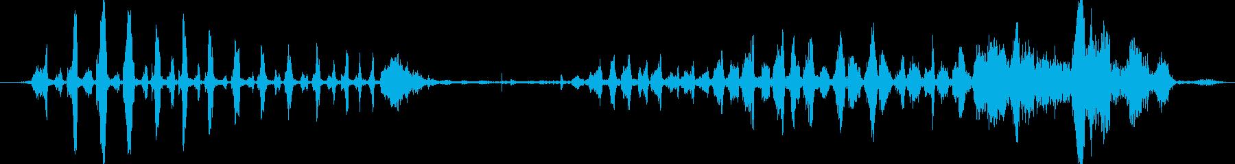 ウォッシュ アップ スポンジスクイ...の再生済みの波形