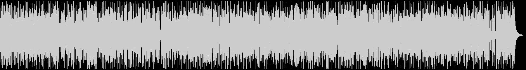 テンションの均一なテクノ系のBGMです。の未再生の波形