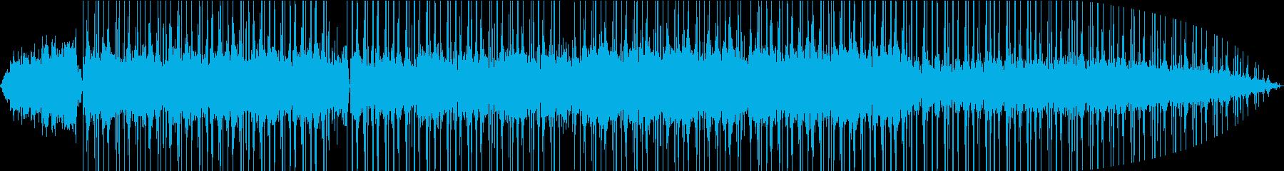 温かいギターとピアノのチルなヒップホップの再生済みの波形