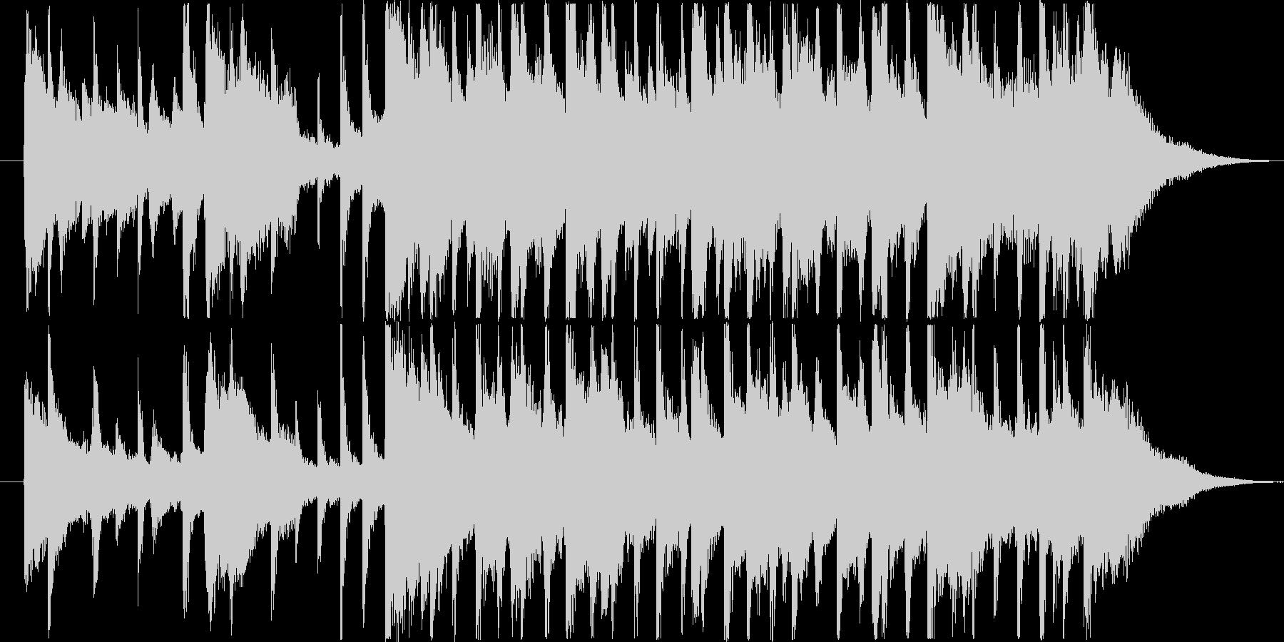 楽しい雰囲気のBGM(15秒ver)の未再生の波形