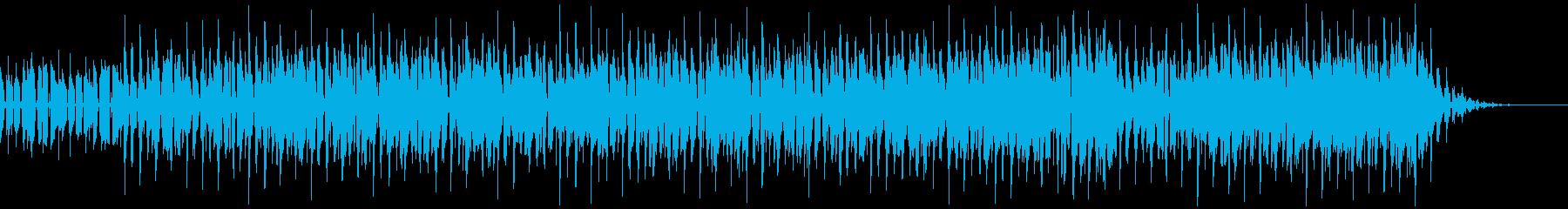 ごちゃまぜジャズヒップホップの再生済みの波形