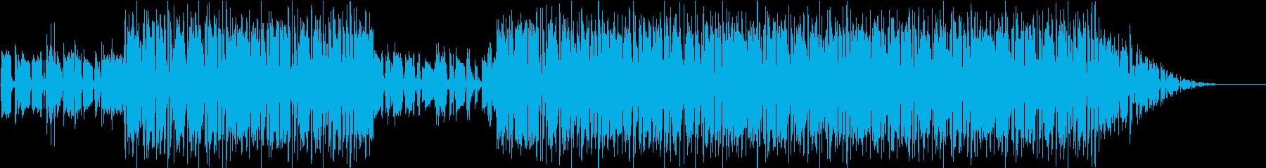 ドリーミーなローファイソングの再生済みの波形