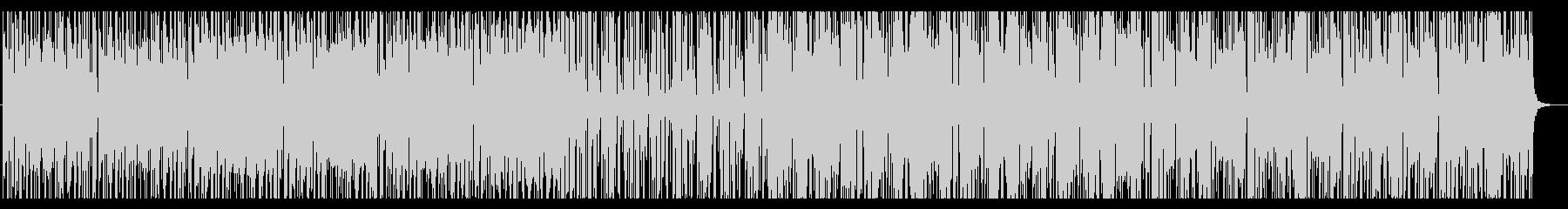 スペインをイメージしたマリアッチ風BGMの未再生の波形