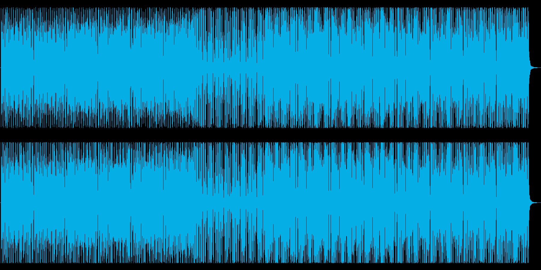 スペインをイメージしたマリアッチ風BGMの再生済みの波形