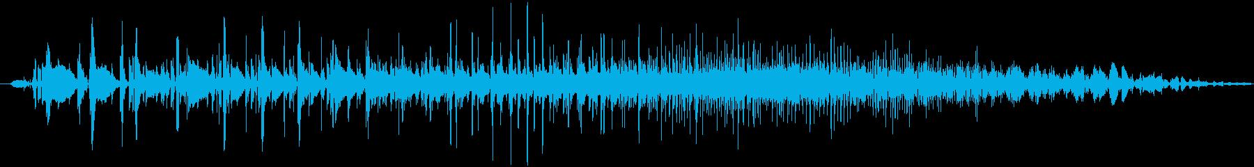 クイックザップの再生済みの波形