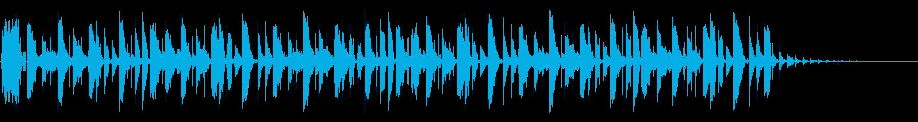 フェイザーベッドの再生済みの波形