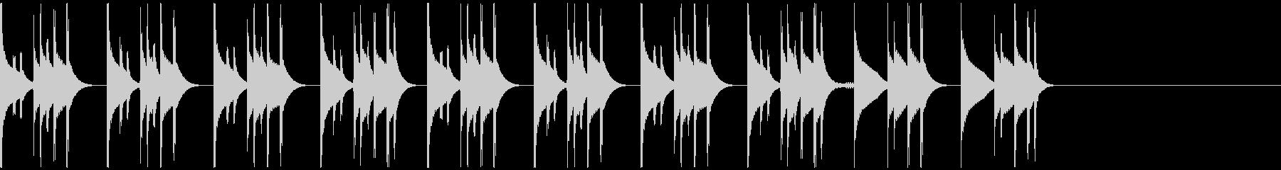 緊張感・切迫感・ミステリアス・スリリングの未再生の波形