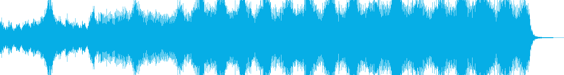 Produce undead and bloody horror A's reproduced waveform