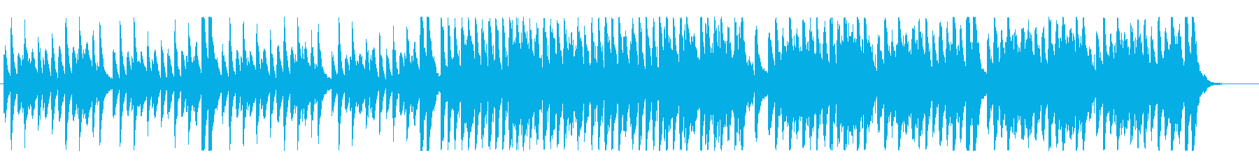 楽しく明るいハッピーなライトオーケストラの再生済みの波形