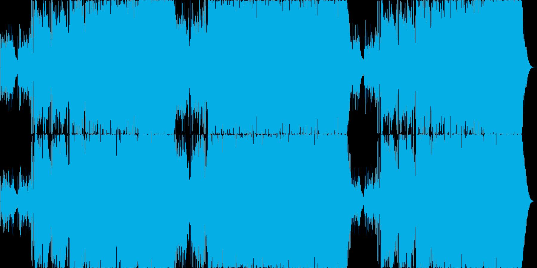フィドルが楽しいカントリー系ロックの再生済みの波形