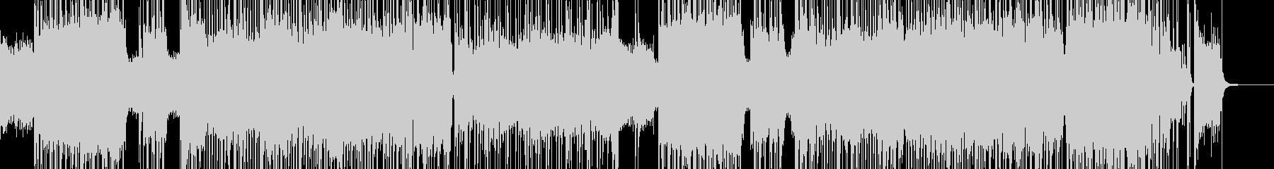 ハイテンションなエレキ・スローロックの未再生の波形