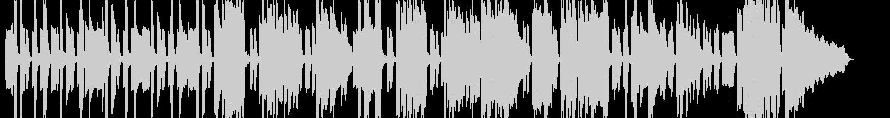 エレピのスウィング・ファンクの未再生の波形
