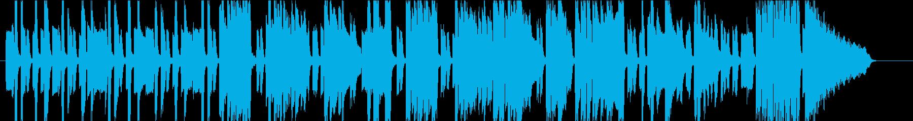 エレピのスウィング・ファンクの再生済みの波形