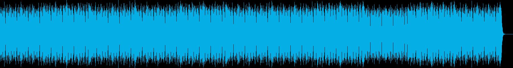 クールな疾走感があるヒップホップビートの再生済みの波形