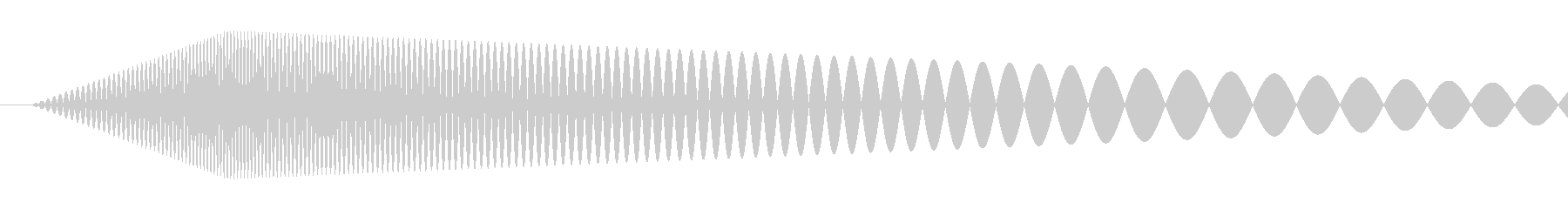 【コミカル】肉球・足音・スタンプ4の未再生の波形