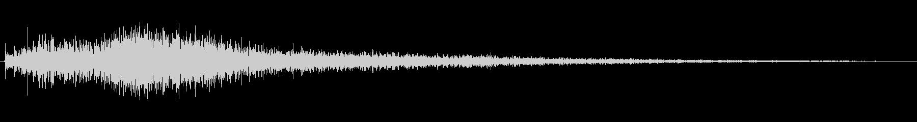 ホラー ピアノトゥワンアクセラレー...の未再生の波形