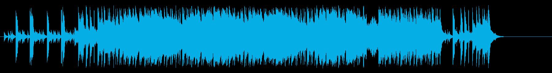 のんびりした童謡風ポップ(イントロ~…)の再生済みの波形