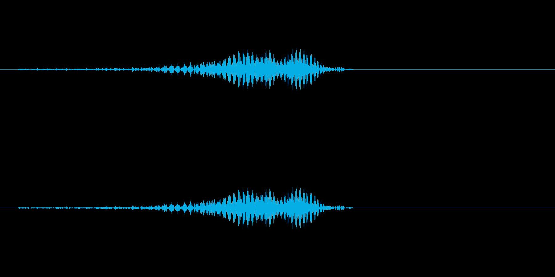 「おーっ!」 男性 掛け声 の再生済みの波形