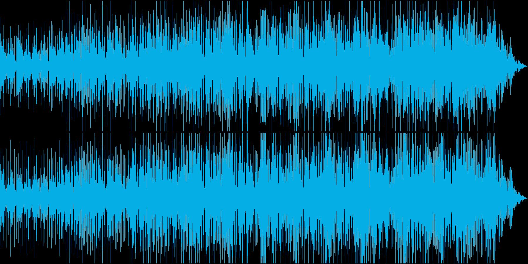 アコースティック感を感じる優しい曲調。の再生済みの波形