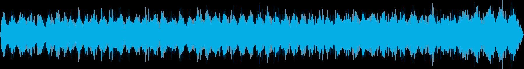 ヘリポート(環境音)の再生済みの波形
