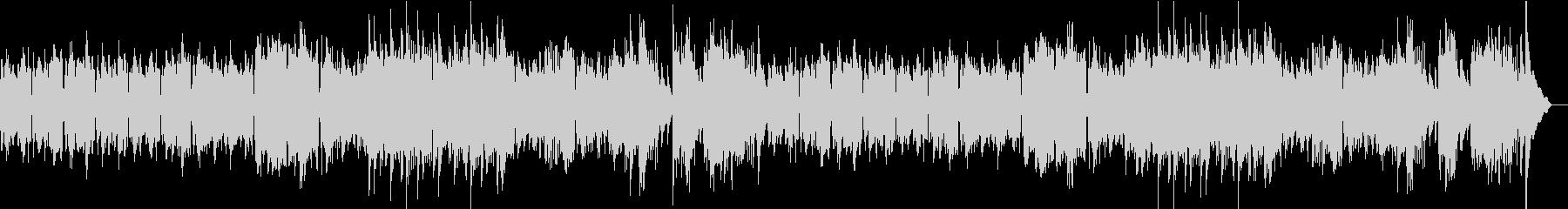アコーディオン旋律のシャンソン風ワルツの未再生の波形